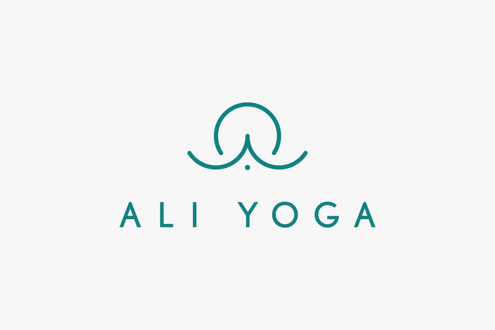Jake Paul White Yoga Logo Design