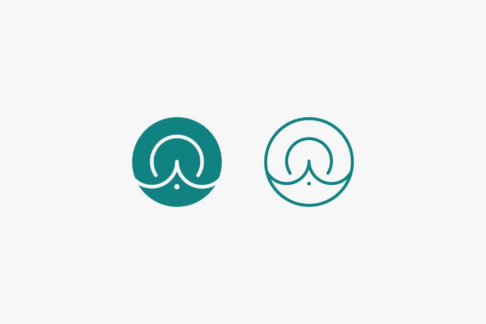 Ali Owens Yoga Logo Design