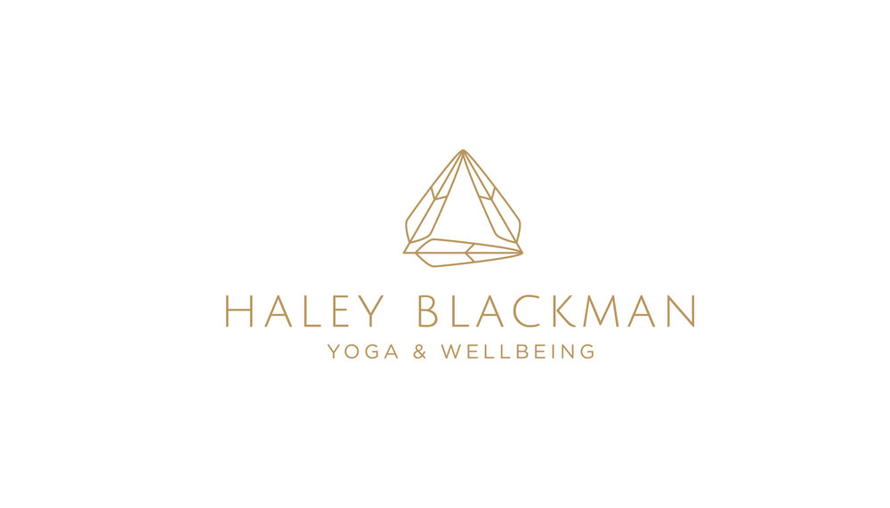 Haley Blackman Yoga Logo Design