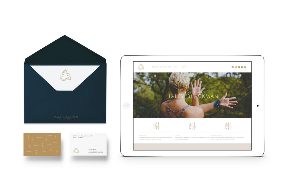 Haley Blackman Yoga Branding