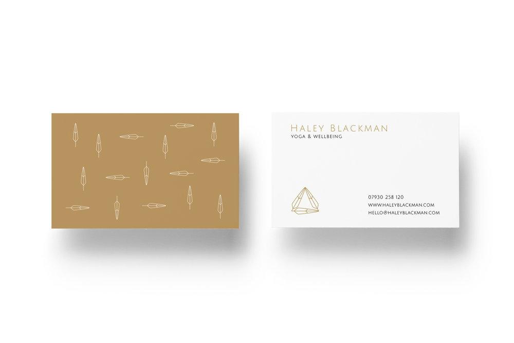 Yoga Business Card Design