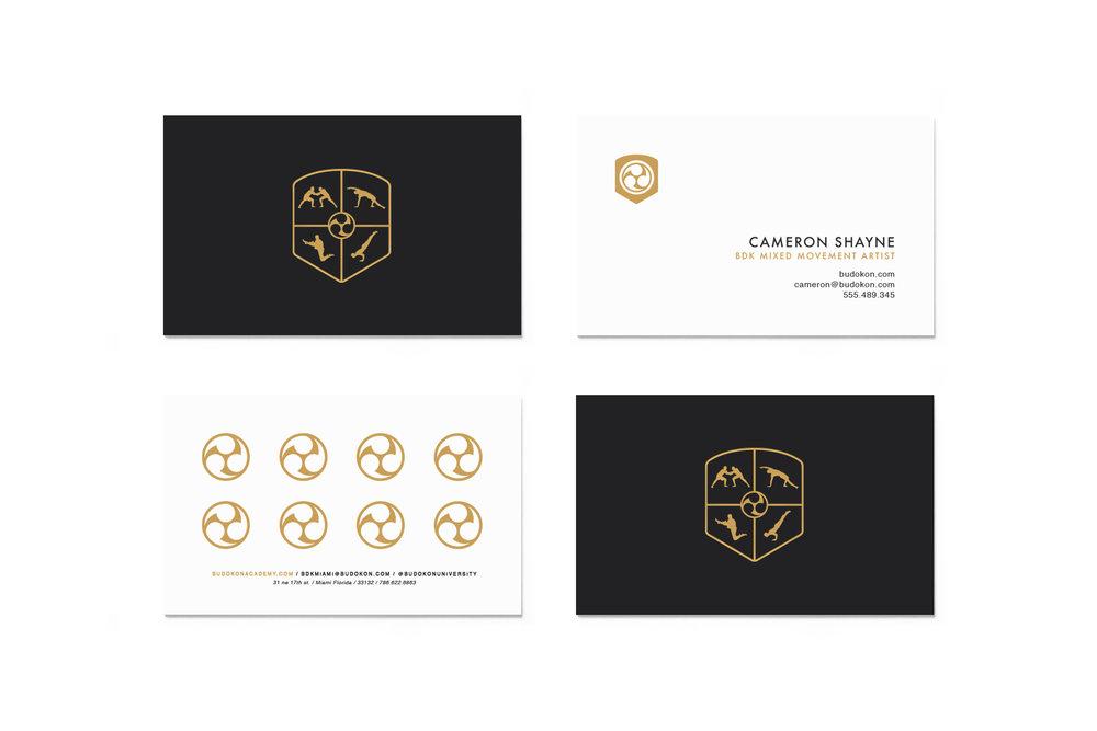 Budokon Business Card