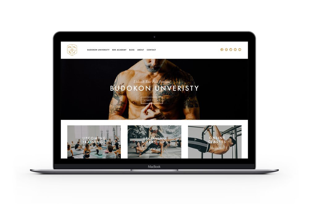 Budokon Website Design