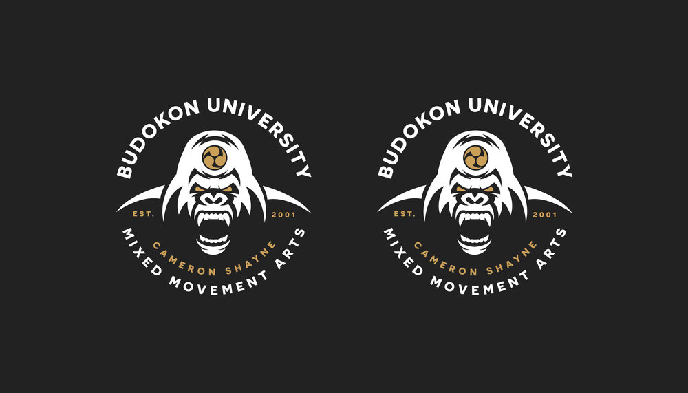 Budokon Gorilla Badge