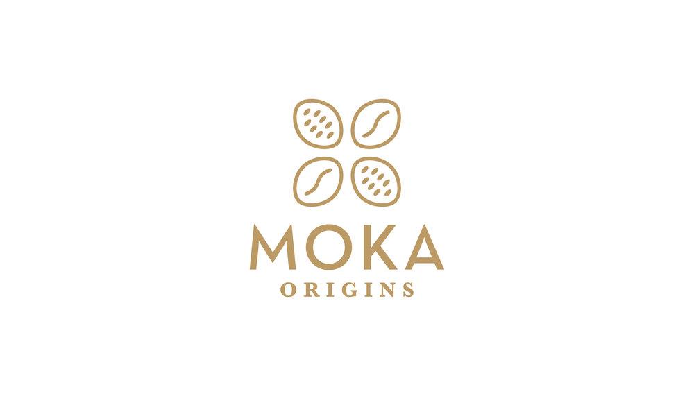Moka Origins Logo Design