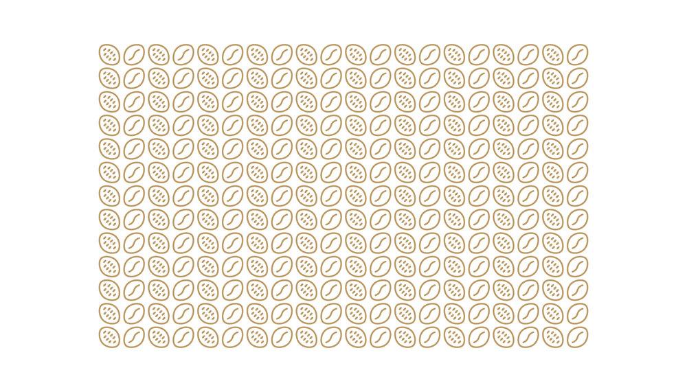 Coffee Bean Pattern Design