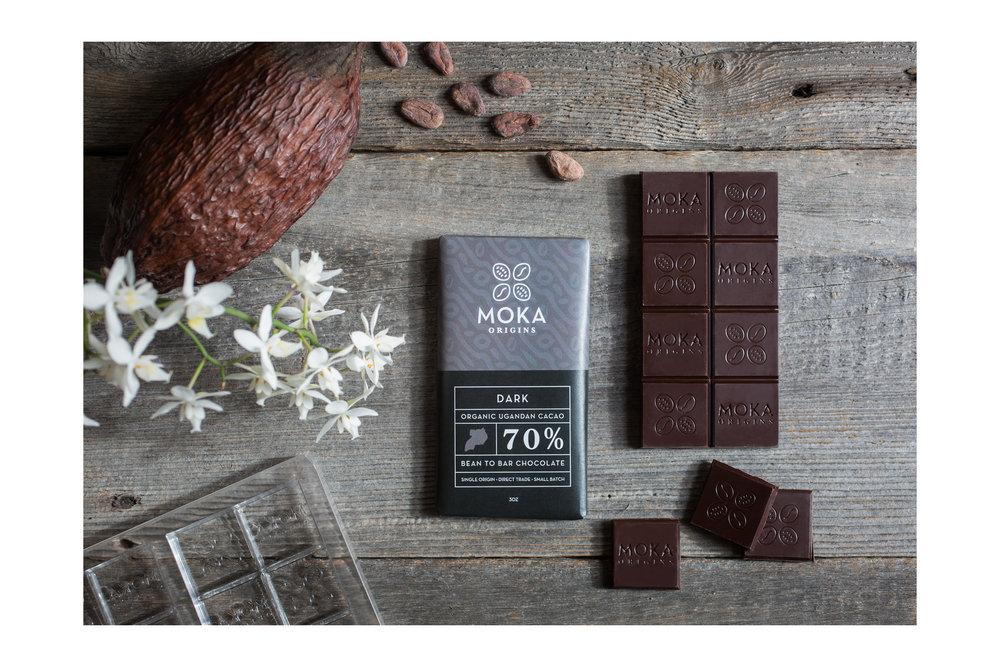 Moka Dark Chocolate Packaging
