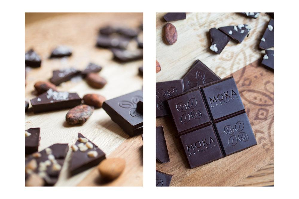 Moka Origins Chocolate Branding