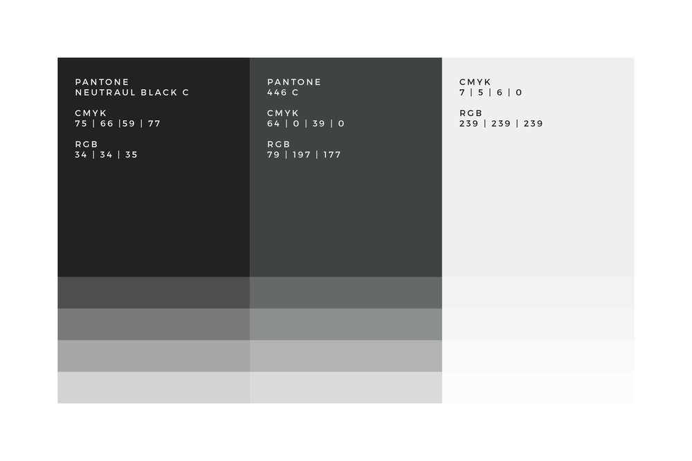 Monotone Colour Palette