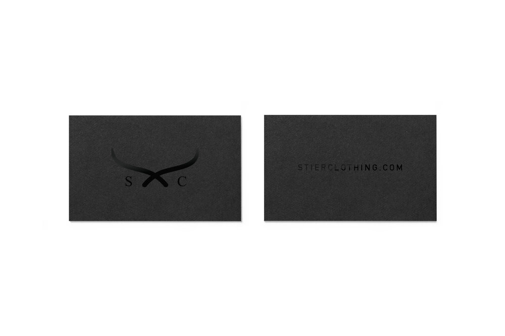 Raised Glossed Business Cards