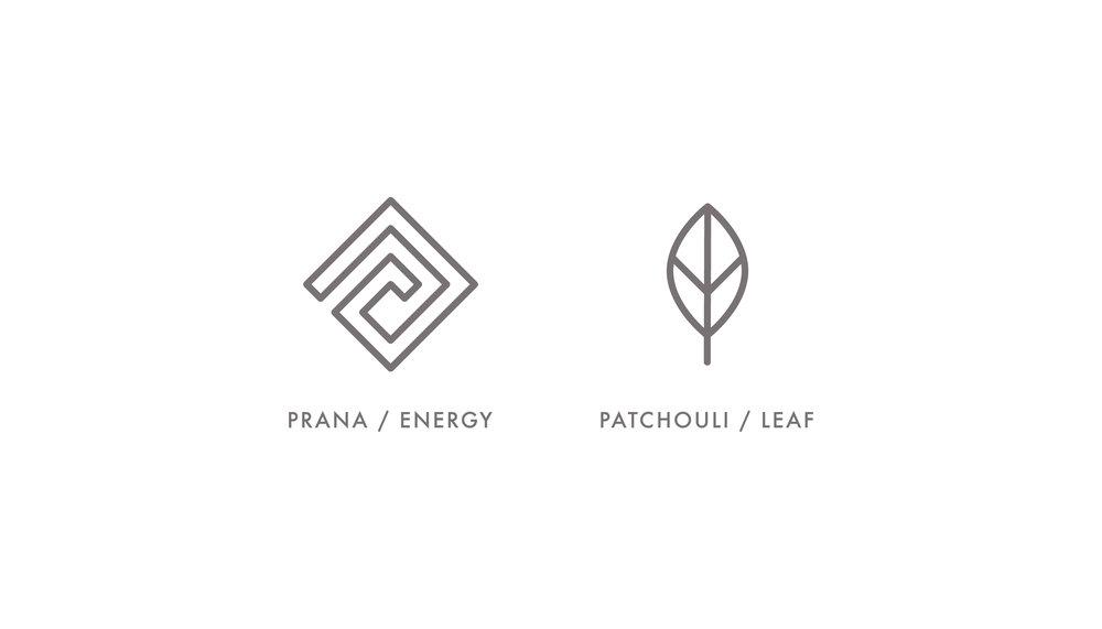 Prana & Patchouli Logo Design