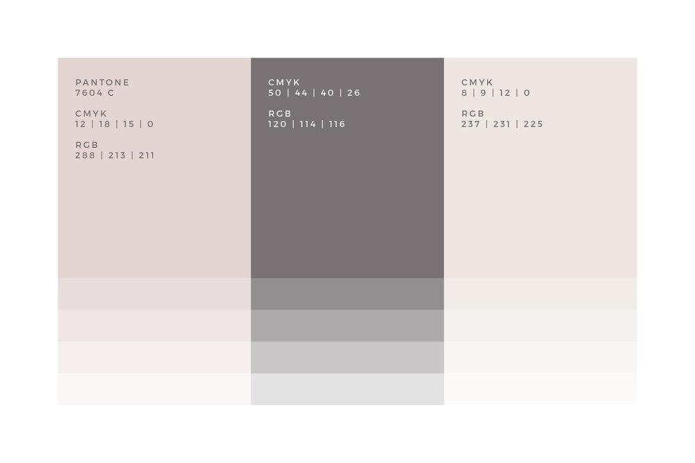 Pink Pastel Colour Palette
