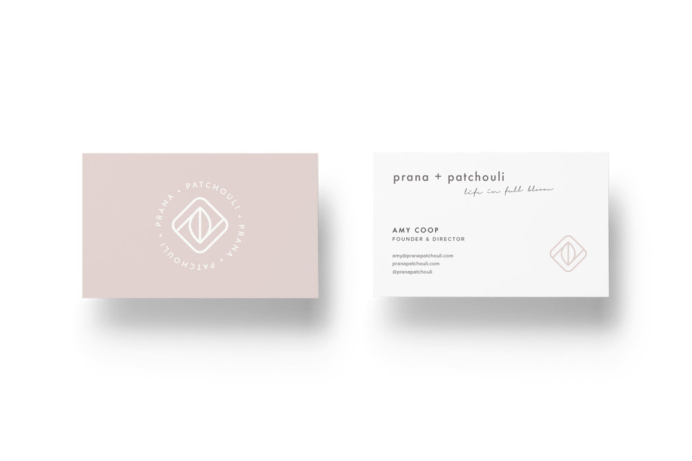 Yoga Business Card Design