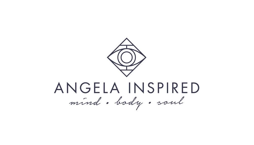 geometrical Yoga Logo Design
