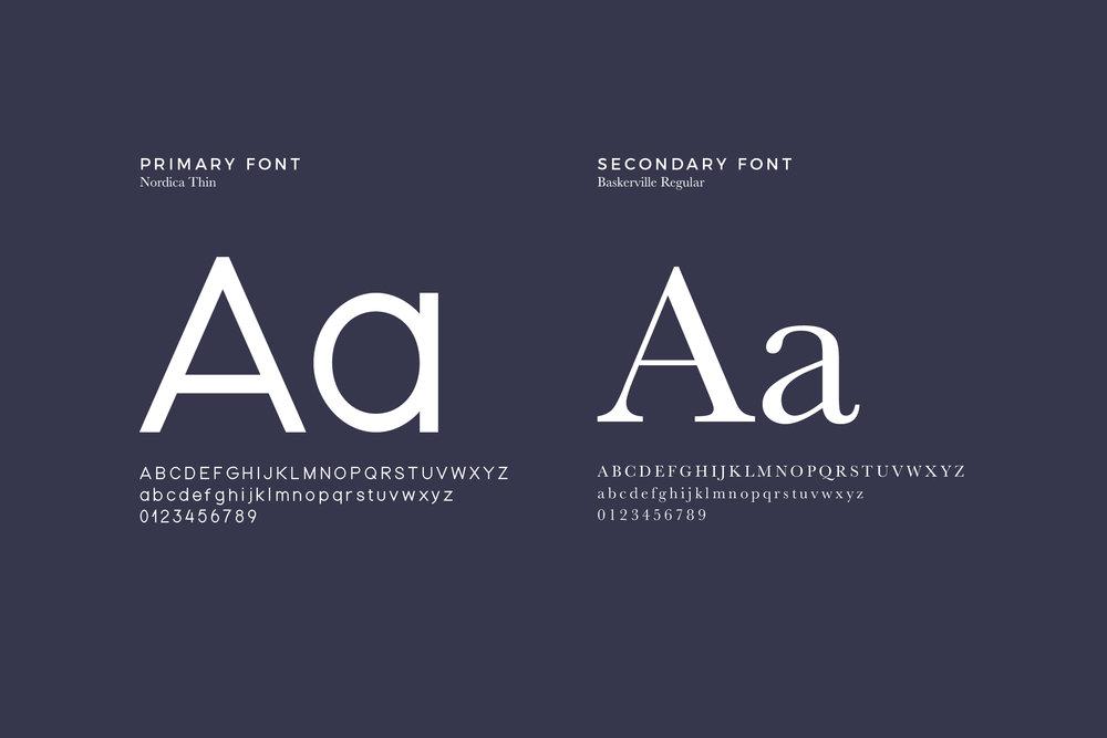 Classic Font Combination