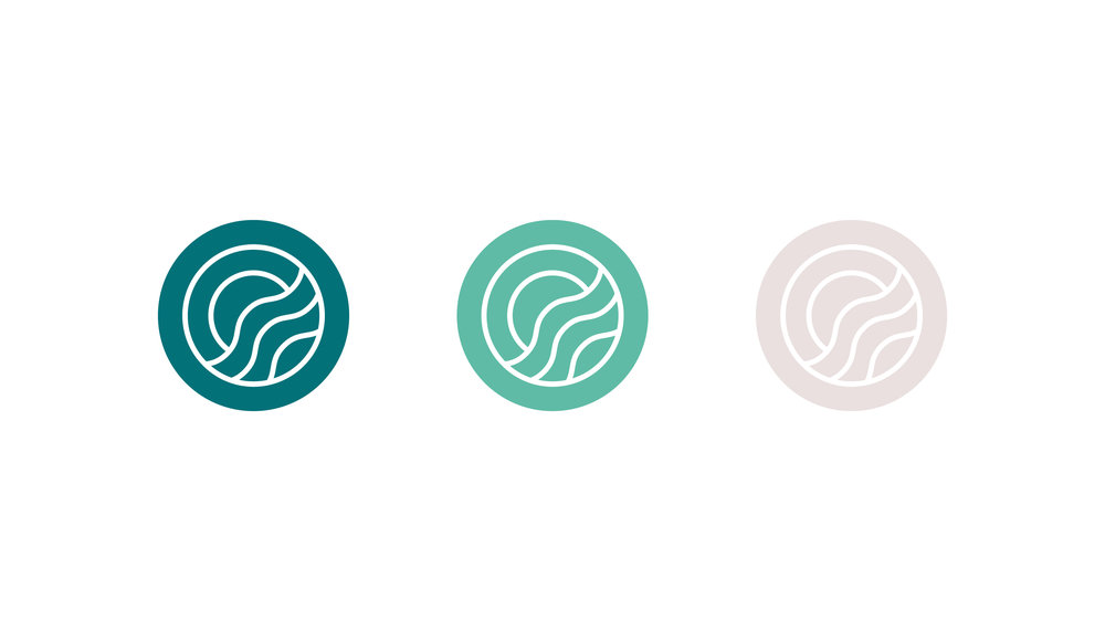 Island Yoga Logo Design