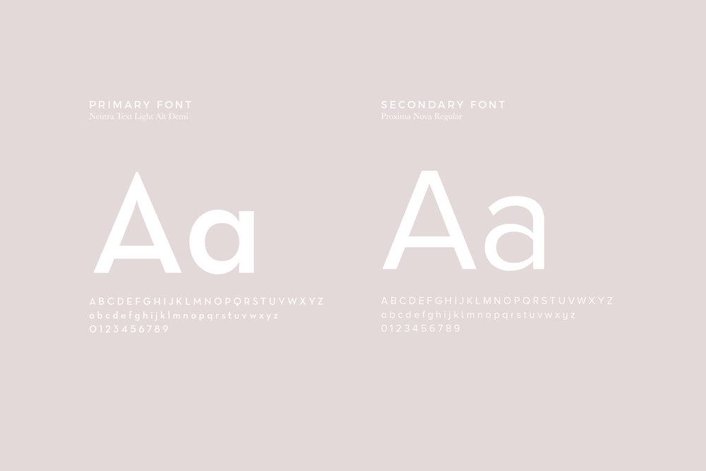 Feminie Font Combination