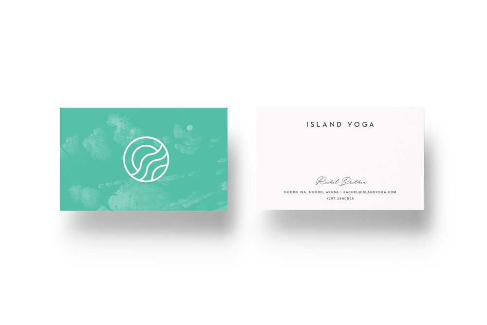 Island Yoga Business Cards