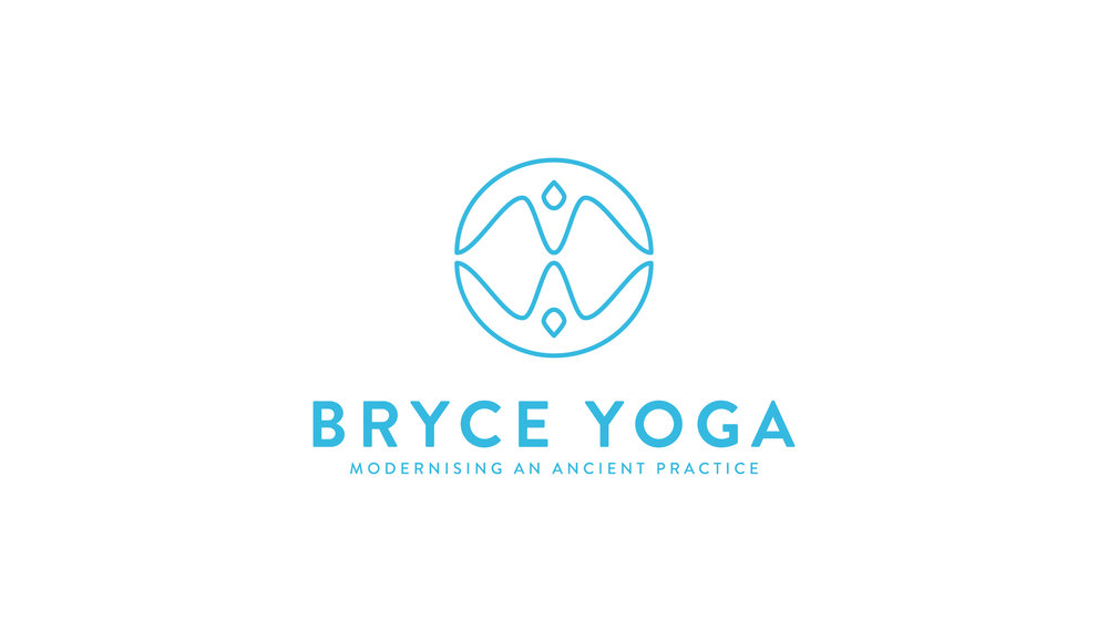 Bryce Yoga Logo Design