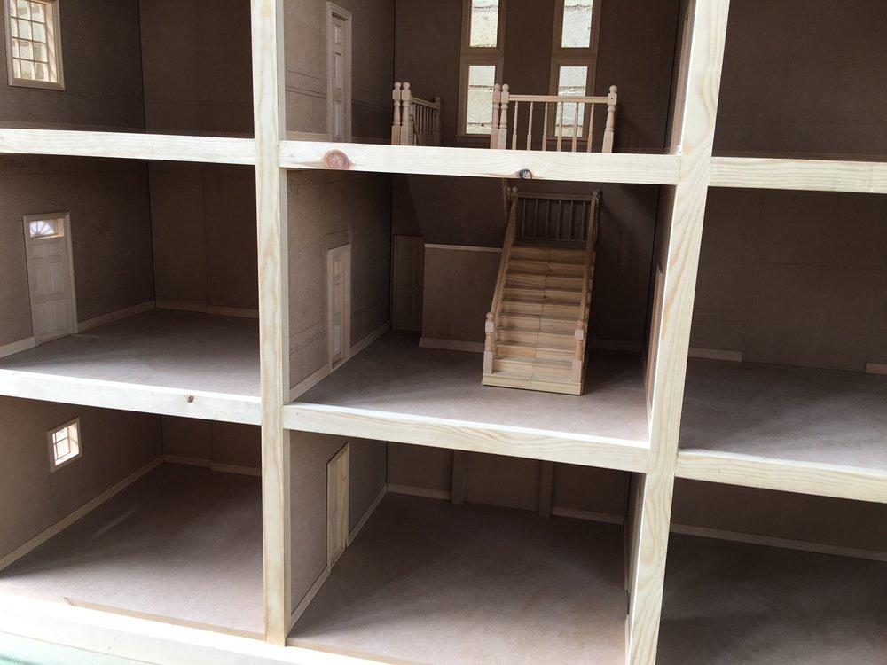 CRAFTWORK PROJECTS 5 - MINIATURIST DOLLS HOUSE BUILD.JPG