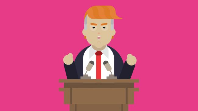 No Hand Trump