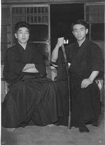 Nemoto San and Maruyama Sensei