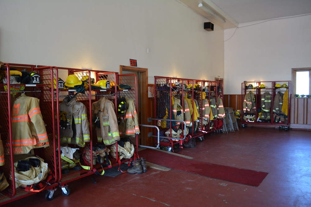 Inside the Fire Station