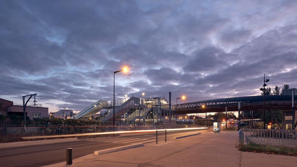 AREP SNCF Tramway gare Villetaneuse Université