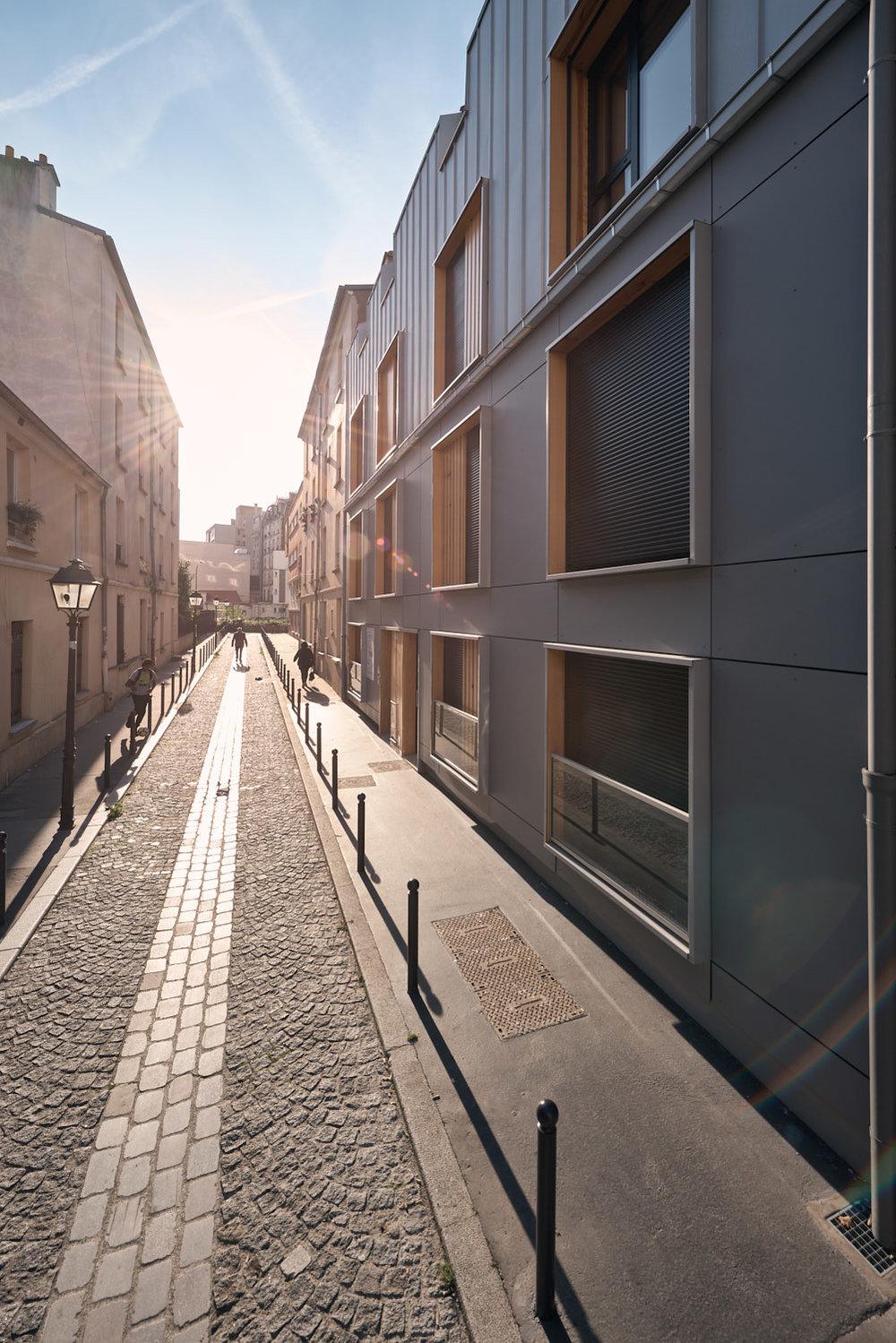 Nomade architectes passage Desgrais Paris Batigere