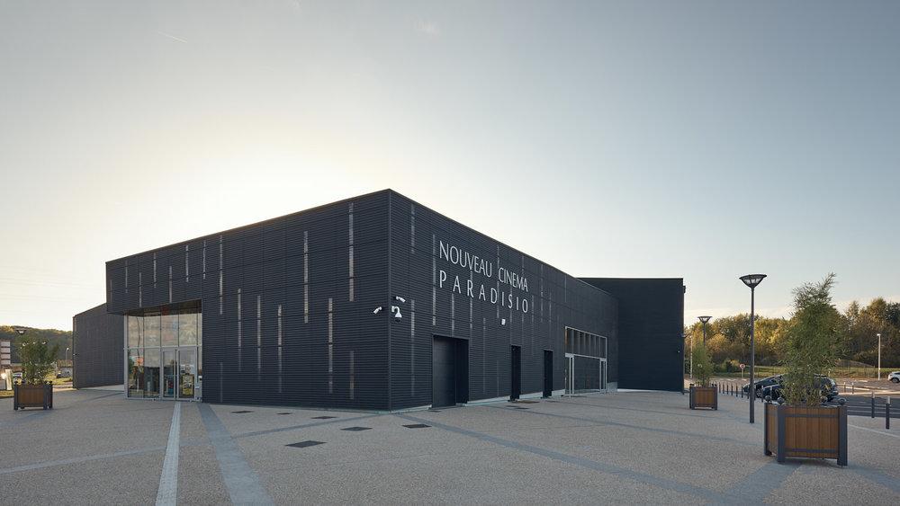 Nouveau Cinema Paradisio - Trace architectes - Brezillon