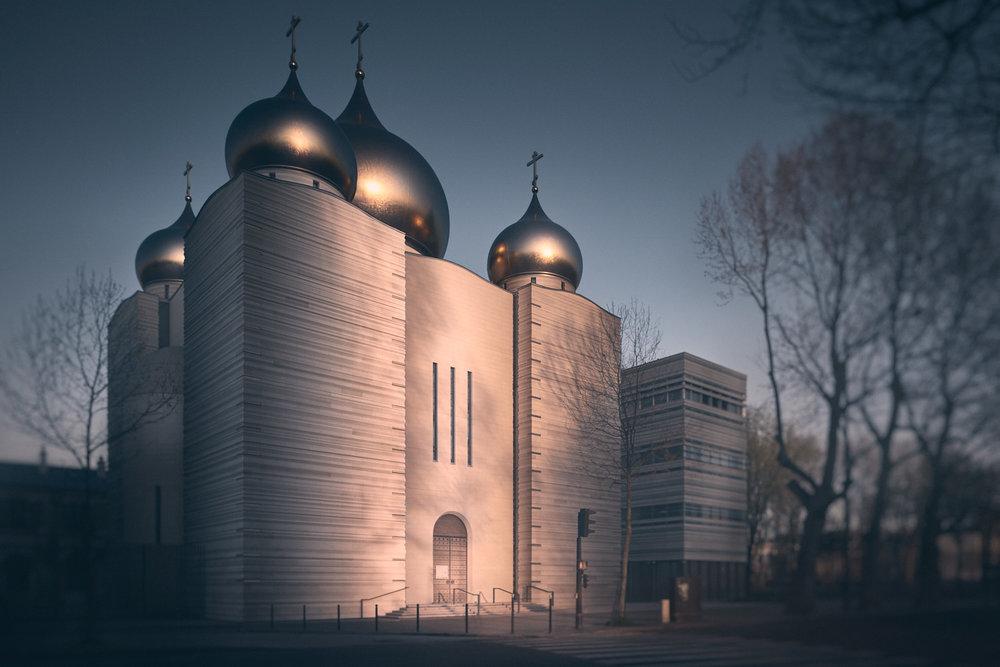Centre culturel orthodoxe Russe - Paris - Wilmotte et associés