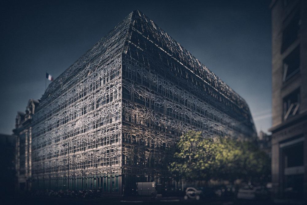 Ministère de la Culture - Paris - Georges Vaudoyer et Francis Soler