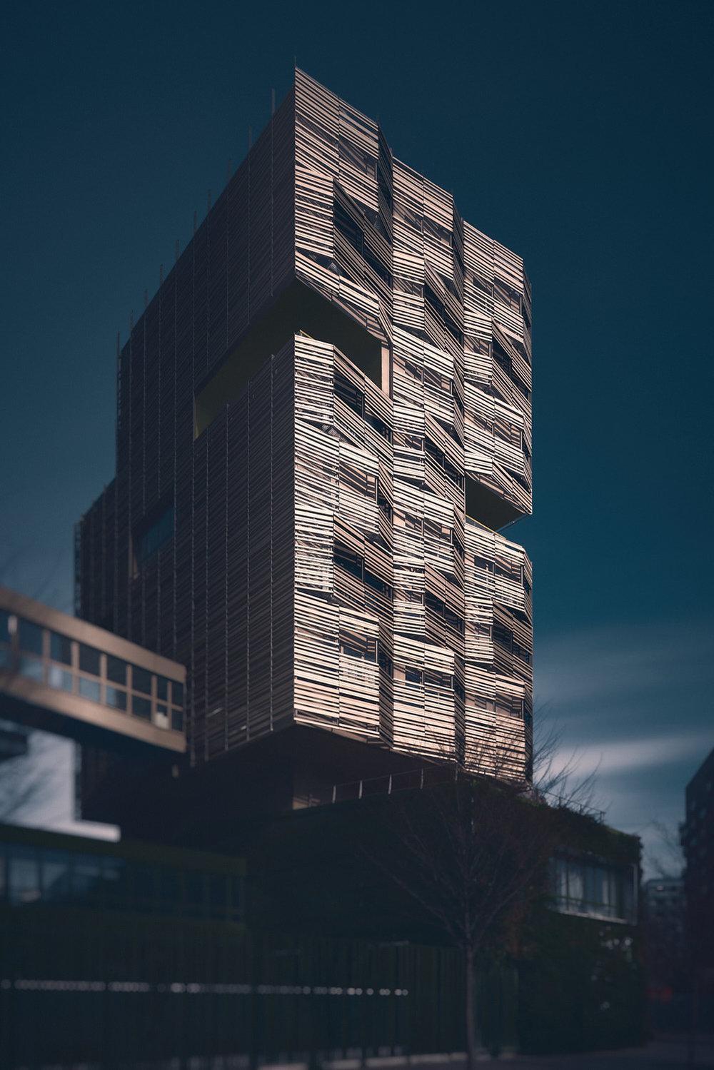 Résidence étudiante et école - ZAC Cardinet Chalabre - Paris - Philéas architectes