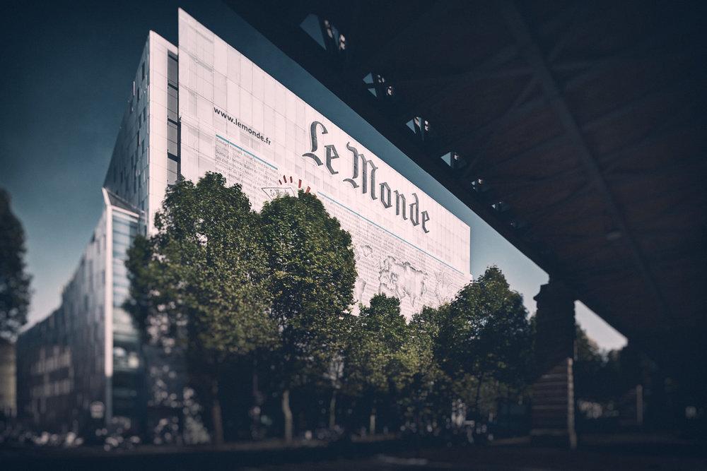 """Siège """"Le Monde"""" - Paris - Christian de Portzamparc architectes"""