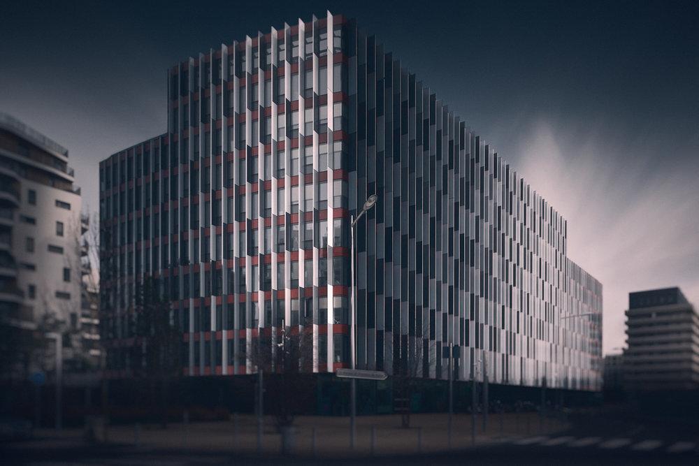 Bureaux Kinetik - Boulogne - Sauerbruch et Hutton architectes