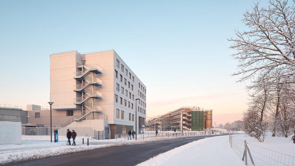 Atelier Tequi architectes - Groupe 3F - Maison Compagnons du devoir