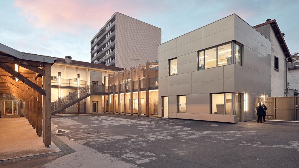 Ecole Notre Dame - Les Lilas - Facto architectures - Bouygues Bâtiment IDF