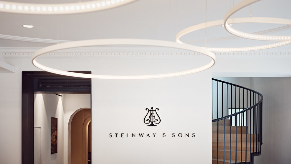 Showroom Steinway & Sons Paris