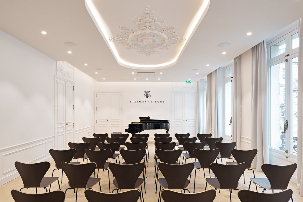 Showroom Steinway & Sons - Paris