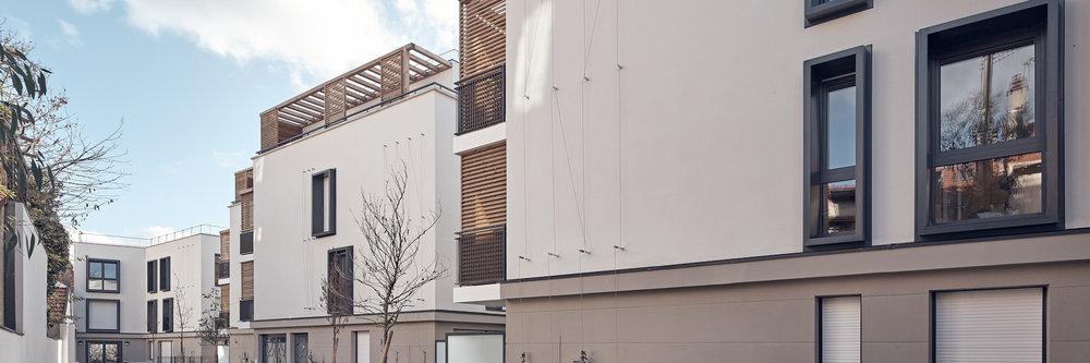 Les 4 saisons à Romainville par Atelier Cap architecture et Bouygues Immobilier