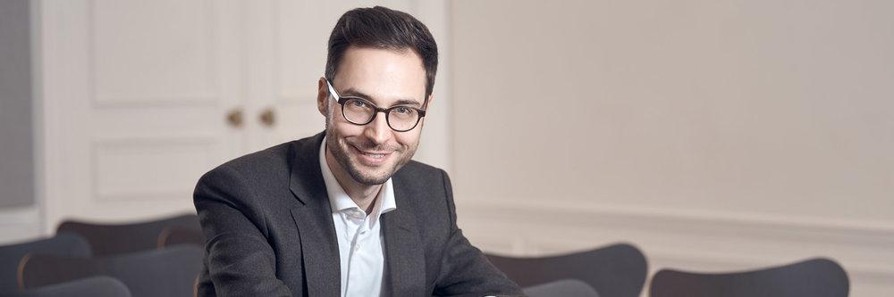 Clément Caseau - Directeur du nouveau showroom Steinway & Sons à Paris