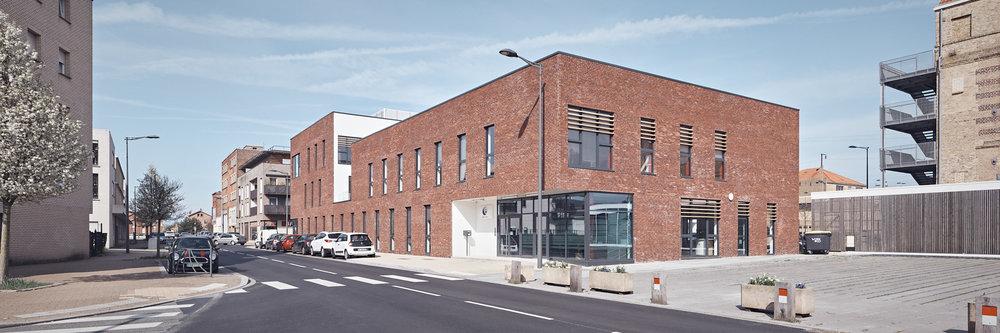 Centre tertiaire Pôle Emploi à Dunkerque par Enia architectes