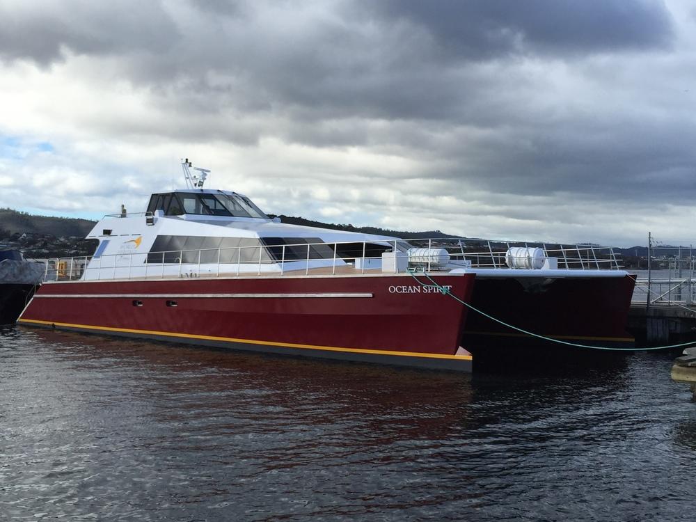 Ocean spirit docked
