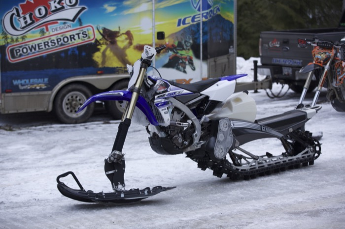 Yamaha YZ450 FX and YETI 137. Deadly package!!