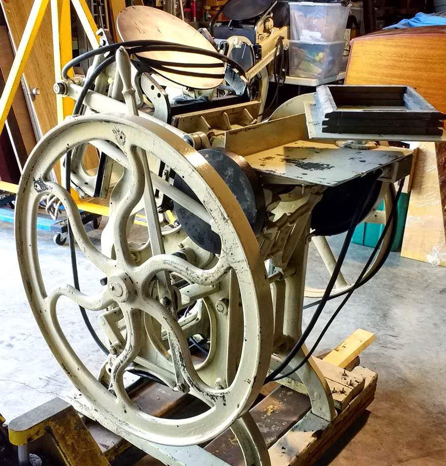 Old Style 8x12 Chandler and Price Printing Press