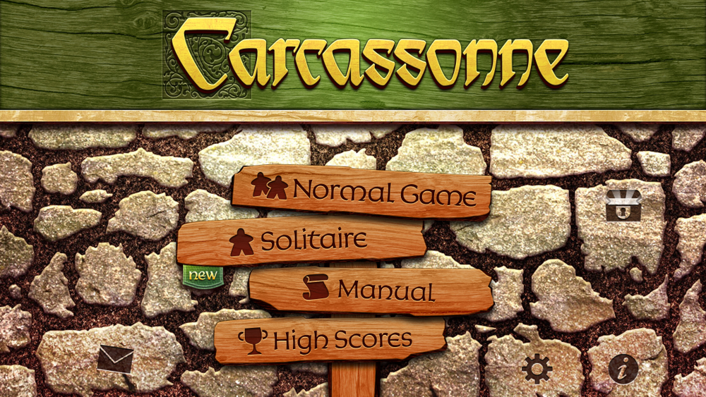 Bask in the glory of Carcassonne's beautiful interface.