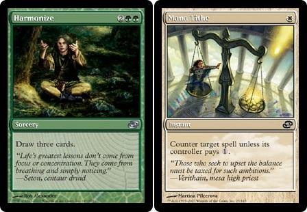 Selesnya. King of pure card draw and counter magic!
