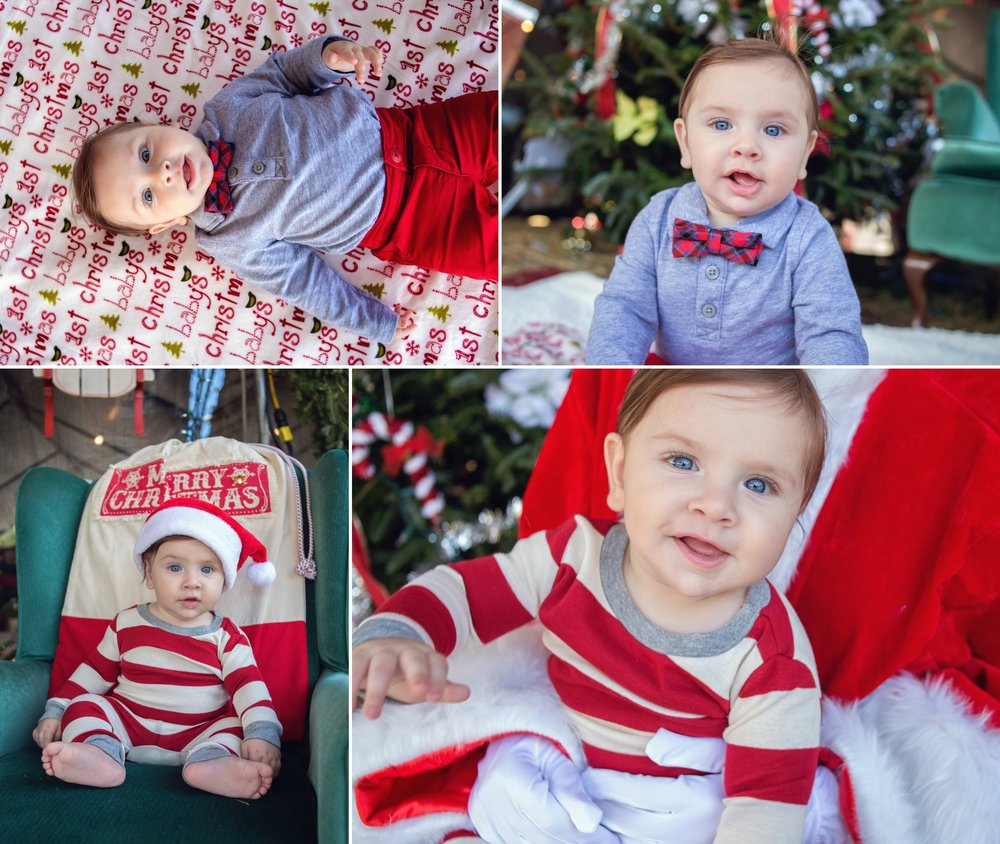 Jackson's Christmas Collage