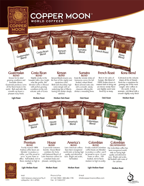 Fractional Pack Coffee