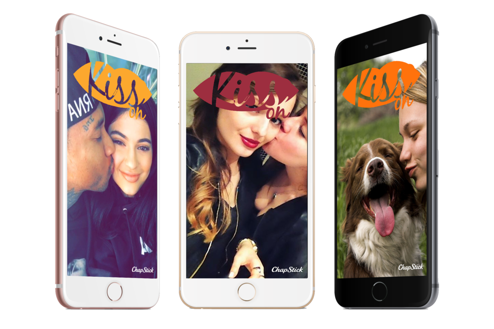 Filters will be available for users on New Year's Eve, Valentine's Day, Mother's Day, Father's Day,International Kissing Day, VE Day, Memorial Day, July 4th, VJ Day, Veteran's Day, Thanksgiving, and the Holiday Season.
